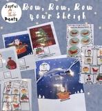 Christmas Adapted Song Book (Row, Row, Row your Sleigh!)