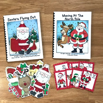 "Christmas Adapted Song Book--""Santa's Flying Out"""