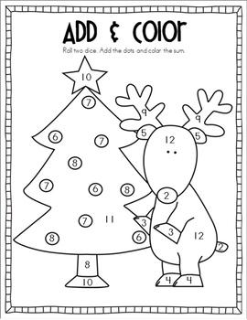 Christmas Add & Color