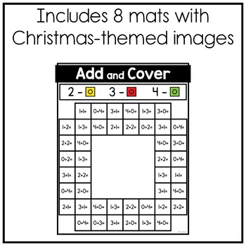 Christmas Add and Cover Mats