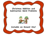 Christmas Add/Sub Word Problems