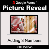 Christmas: Adding 3 Numbers - Google Forms Math Game | Dis