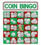 Money Math - Christmas Adding Coins Bingo Cards - 30 Unique Cards!