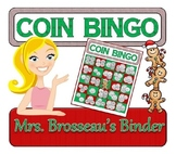 Money Math - Christmas Adding Coins Bingo Cards - 30 Uniqu