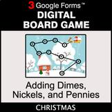 Christmas: Adding Dimes & Nickels & Pennies - Digital Boar