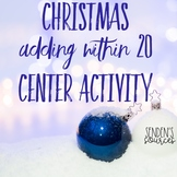Christmas Adding Within 20 Center