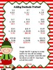 Christmas Adding and Subtracting Decimals Activity Pack