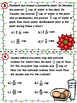Christmas Adding and Subtracting Fractions with Unlike Den