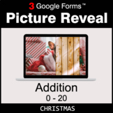 Christmas: Addition 0-20 - Google Forms Math Game | Distan