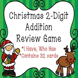 2nd Grade Christmas Activity I Have Who Has Christmas Addition Game 2 Digits