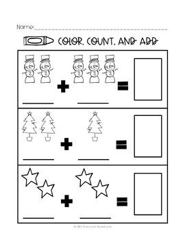 Preschool math - adding