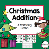 Christmas Addition {A Matching Game}
