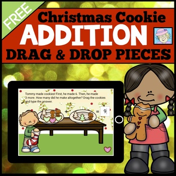 Christmas Addition BOOM CARDS FREE