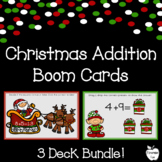 Christmas Addition Boom Cards Bundle ~ 1st Grade Distance