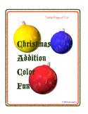 Christmas Addition Color Fun