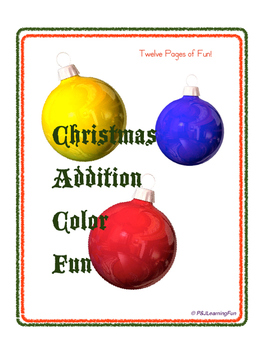 Christmas Addition Color Fun