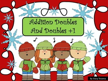 Christmas Addition Doubles and Doubles +1