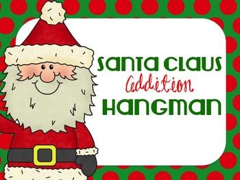 Christmas Addition Hangman