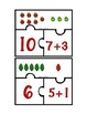 Christmas Addition Puzzles Sums to 10