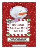 Christmas Addition Mats Sums 0-15