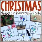 Christmas Addition Number Building