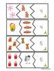 Christmas Addition Puzzles (1-20)