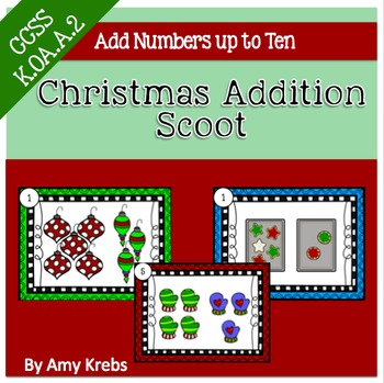 Christmas Addition Scoot