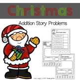 Christmas Addition Story Problems