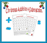 Christmas Math Worksheets: Addition & Subtraction.