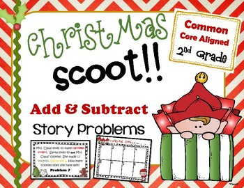 Christmas Addition & Subtraction Scoot