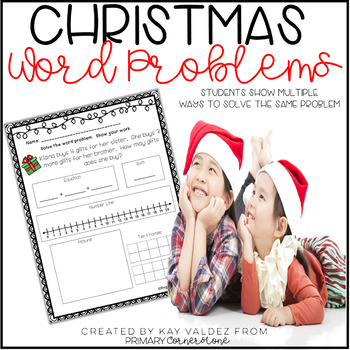 Christmas Activities-Christmas Math Activities-Christmas Word Problems