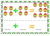 Christmas Addition Task cards - activities