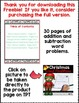 Christmas Addition & Subtraction Word Problems SAMPLE (Common Core Aligned)