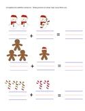 Christmas Addition Worksheet