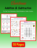 Christmas Addition and Subtraction
