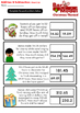Christmas Addition and Subtraction Bar Model Word Problems - Grades 4 and 5