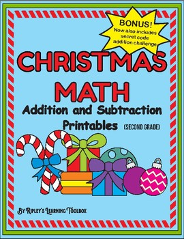 Christmas Addition and Subtraction Pack (2nd)