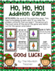 Christmas Addition and Subtraction Games