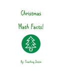 Christmas Addition and Subtraction Math Facts Worksheets