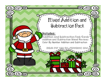 Christmas Addition and Subtraction Pack