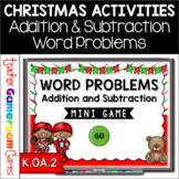 Christmas Addition and Subtraction Word Problems