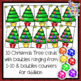 Christmas Addition and Subtraction - a Christmas Tree themed math activity