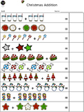 Christmas Addition and Word Problems