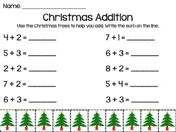 Christmas Addition to 10