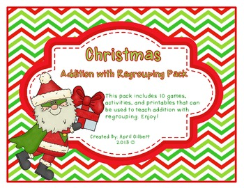 Christmas Addition with Regrouping Pack