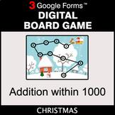 Christmas: Addition within 1000 - Digital Board Game | Goo