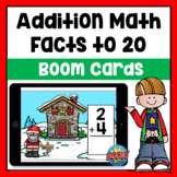 Christmas Addition within 20 Boom Cards | Distance Learning