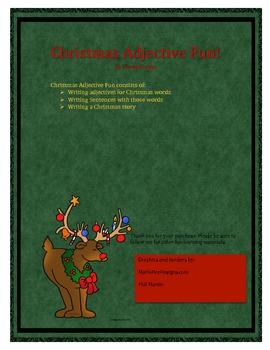 Christmas Adjective Fun