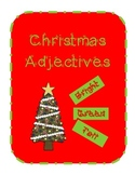Christmas Adjective Match
