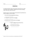 Christmas Adjective Worksheet